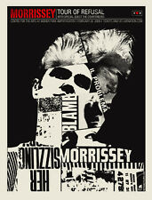 MORRISSEY CONCERT POSTER LIMITED EDTION SCREEN PRINT METHANE STUDIO