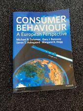 Consumer Behaviour: A European Perspective by Michael R. Solomon, Gary J....