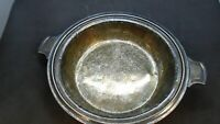 """Olympic Hotel Silver Soldered Plate Restaraunt 8.5"""" New York"""