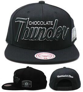 Brooklyn Nets New Mitchell & Ness Chocolate Thunder Darryl Dawkins Black Hat Cap