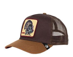 Goorin Bros Turkey Brown Trucker Hat 101-0485-BRO One Size