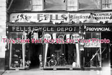 NF 364 - Fell's Cycle Depot Shop Front, Kings Lynn, Norfolk - 6x4 Photo