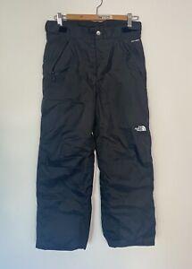 The North Face dry vent black snow pants boys sz Large  (14-16)