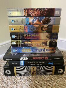 Star Wars Book Lot ( 3 Hardcovers + 6 Vintage Paperbacks)