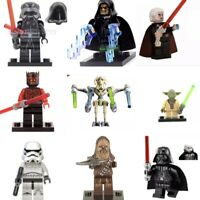 Star Wars CUSTOM LEGO minifigures MINI FIGURES Mandalorian Darth Jedi Yoda