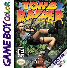 Tomb Raider Starring Lara Craft GBC New Game Boy, Game Boy