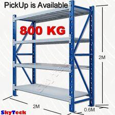 2M Garage Storage Warehouse Shelves Shelving Racking Metal Steel  800kg H-2020BG