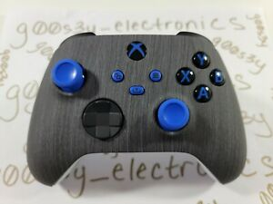 NEW Custom Xbox Series One / X / S Black Wood Styled Wireless Controller