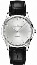 Jaeger-LeCoultre Genuine Leather Strap Adult Wristwatches