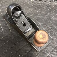 Vintage STANLEY No. 220  Seven Inch  Block Plane  Made In U.S.A.