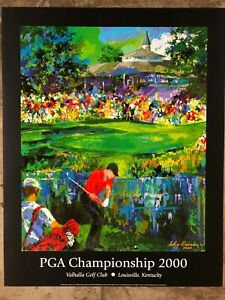 2000 PGA Championship - Official Print - By LeRoy Neiman
