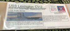 USS Lexington 1/700 CV-2 MIDSHIP Models PHOTOETCH Deck for FUJIMI #MPK825