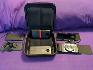 Set Of Motorola Z Series Mods Hasselblad Camera, Projector, Car Mount & More