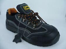 Black Hammer Mens Safety Boots Steel Toe Cap Black UK 9 EU 43 LN094 CC 06