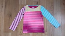 girls Joules long sleeved stripey top age 9-10 preloved