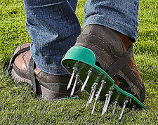 Lawn Care Stainless Steel Areator Shoes Garden Grass Spikes***