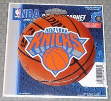 NBA NIB 4 INCH AUTO MAGNET - NEW YORK KNICKS