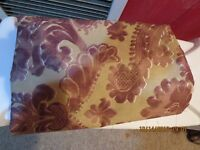 "FABRIC--BLOOMCRAFT--38"" X 54""--STAIN REPELLANT--#B49A"