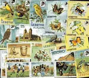 Lesotho Collectables Of 25 IN 300 Stamps Different