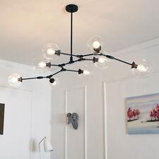 Large Chandelier Lighting Flush Mount Ceiling Lights Black Pendant Light BarLamp