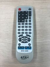 Apex Digital RM-1600 DVD Player Remote Control-Tested And Cleaned           (K7)
