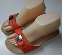 Dr. Scholl's The Original Exercise Sandal.  Orange Size 9