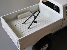 Tamiya R/C 1/10 Trunk Bed Mount Spare Tire Rack Juggernaut Unimog Bruiser Hilux