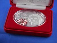FIJI FIDSCHI  10 Dollar 2012  30. Todestag Gracia Patricia PP 1 Unze Silber (K7)