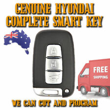Hyundai IX35 + I45 NEW GENUINE Smart Key - We Can Cut And Program + Pin Codes