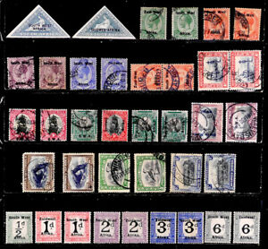 SOUTH WEST AFRICA, BRITISH: CLASSIC ERA STAMP COLLECTION