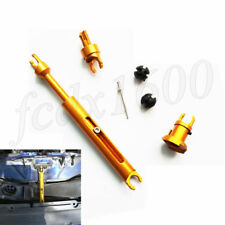 CNC Car Hood Latch Lock Link Post Release Connect Rod For Ford Focus 2 MK2 C-MAX