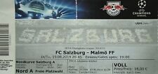 TICKET UEFA CL 2014/15 FC Salzburg - Malmö FF
