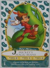 Disney Sorcerers the Magic Kingdom Card 30 Mickey's Magic Beans New