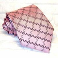 TIE , NEWTOP Quality , tie, handmade ,business ,Made in Italy ,100 % silk . pink