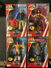 WWE Flashback Mattel Elite Ultimate Warrior Yokozuna Syxx Mean Gene Okerlund
