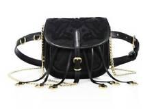 b9145bb713f3 NWT $2,375 Prada Corsaire Floral-Embroidered Nylon Belt Bag Purse