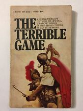The Terrible Game Dan Tyler Moore Paperback Book 1st Printing 1969 Gymkata Vtg