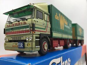 Tekno M J De Wilde & Zn DAF 3300 Middle East Trans Europe. Dutch Tek. Cert 1/50