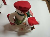 Hallmark 2018 Animated Musical Motion Plush Special Delivery Snowman Christmas