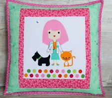 Kids pillow Nursery decorations for girl Pillow covers Pink pillow