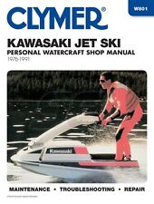Clymer Kawasaki Jet Ski/ Personal Watercraft Shop Manual 1976-1991