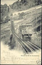 switzerland Chemin de Fer de Territet-Gilion 1902 TRAIN