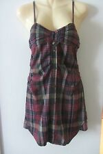 Etoile Isabel Marant tartan Dress/Top, size 2, AUS 8-10