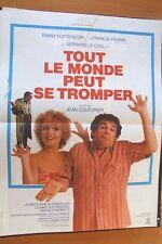 AFFICHE - TOUT LE MONDE PEUT SE TROMPER FRANCIS PERRIN