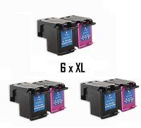 6x XXL Tintenpatronen Refill für Envy 4520 4521 4522 4524 4525 4526 4527 4528