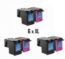 6x Refill TINTENPATRONEN 62 XL für HP Officejet 8045 8040 5740 5745 8000 Serie