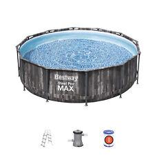 """Bestway 12' x 39.5"""" Steel Pro MAX Pool Set (9,150L) Swimming Pool - BW5614X"""