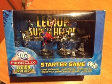 Heroclix LEGION Of SUPER HEROES STARTER GAME SET  DC SUPERMAN