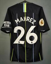 NIKE FC MANCHESTER CITY 2018/2019 MAHREZ #26 FOOTBALL SOCCER SHIRT JERSEY SIZE S