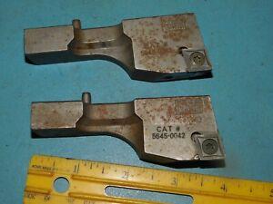 TWO - Kaiser 100-125 Carbide insert holder 5645-0042